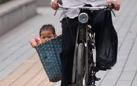 Chinese child bike seat